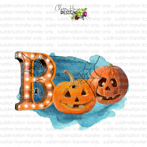 BOO Orange (Sublimation Transfer)