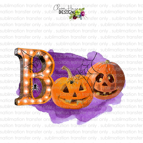 BOO Purple (Sublimation Transfer)