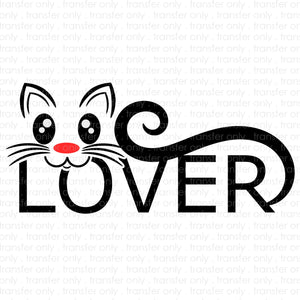 Cat Lover (Sublimation Transfer)