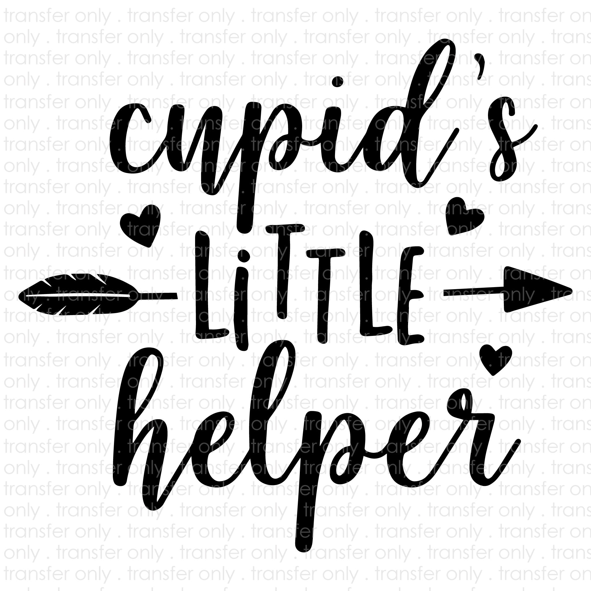 Cupid's Little Helper (Sublimation Transfer)