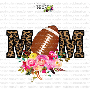 Football Mom (Sublimation Transfer)