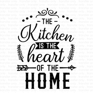 Heart Of The Home (Sublimation Transfer)