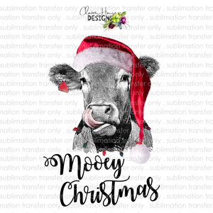 Mooey Christmas (Sublimation Transfer)