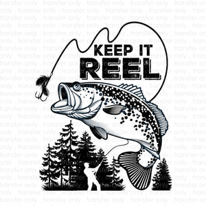 Keep It Reel (Sublimation Transfer)