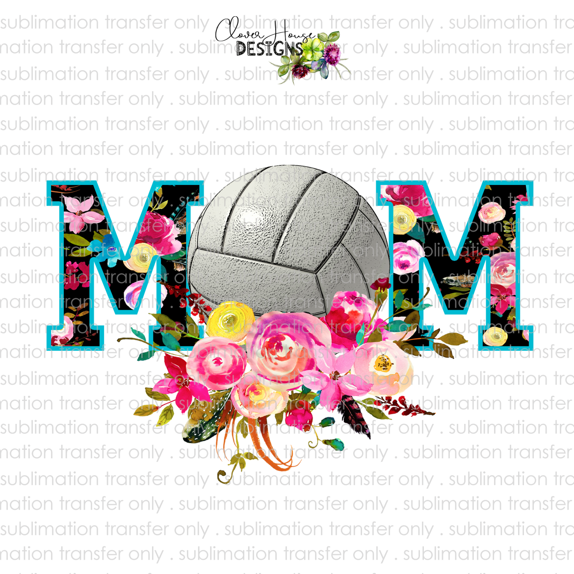 Volleyball Mom (Sublimation Transfer)