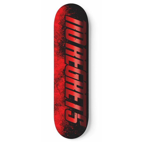 Skate Deck Custom 1 Piece Design Skateboard