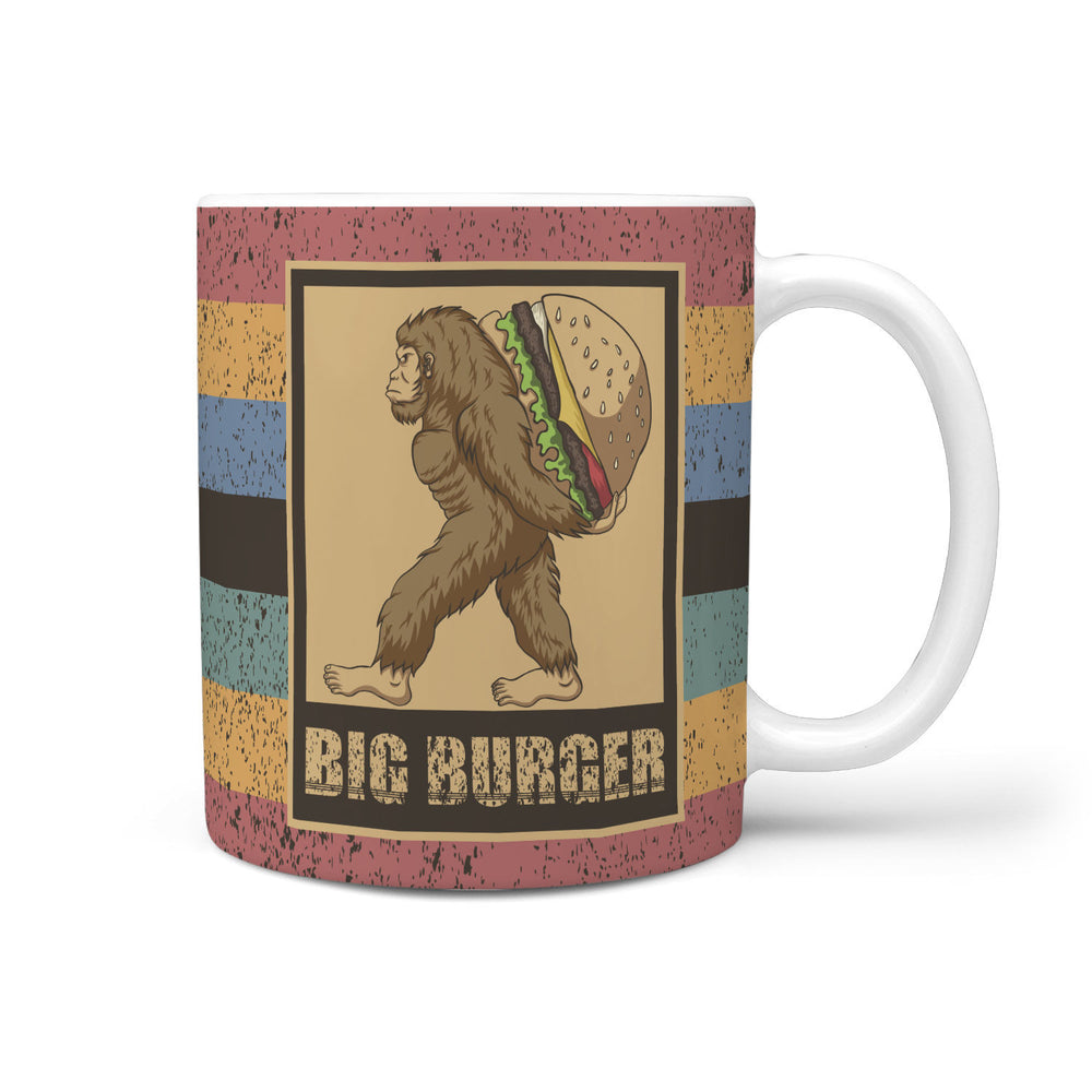 Bigfoot Coffee Mug Big Burger