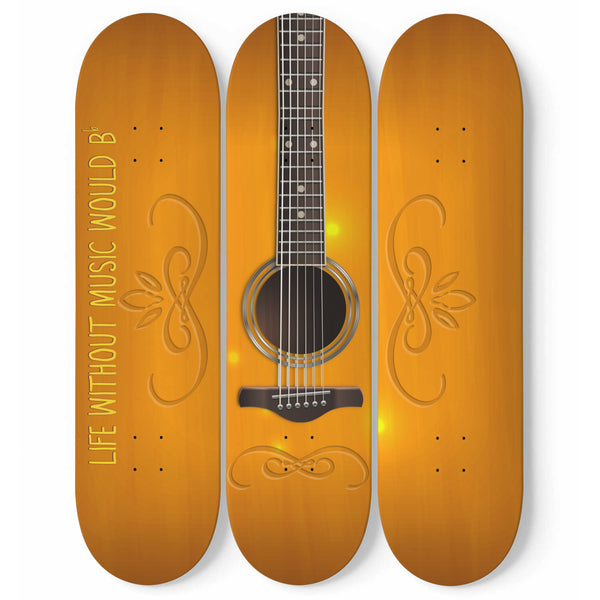 Acoustic Guitar Wall Art