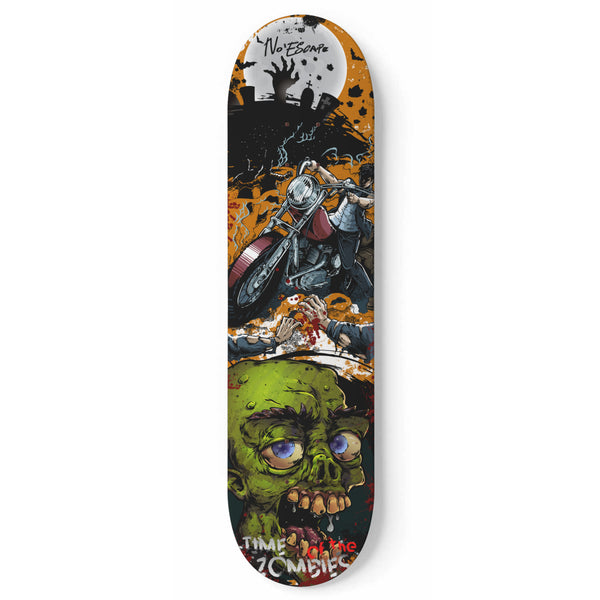 Zombie Skateboard Deck No Escape