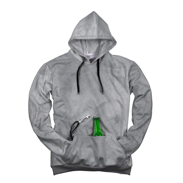 Grey Camping Tailgate Party Hoodie