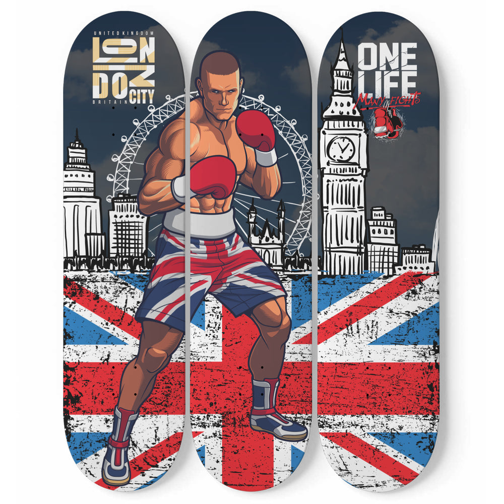 UK Boxing Wall Art