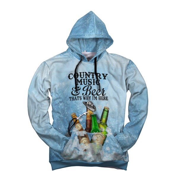 Country Music And Beer Hoodie