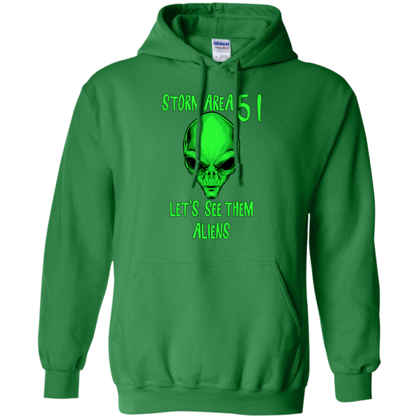 Storm Area 51 Hoodie Lets See Them Aliens