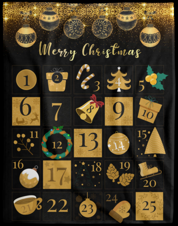 Christmas Blanket Advent Calendar