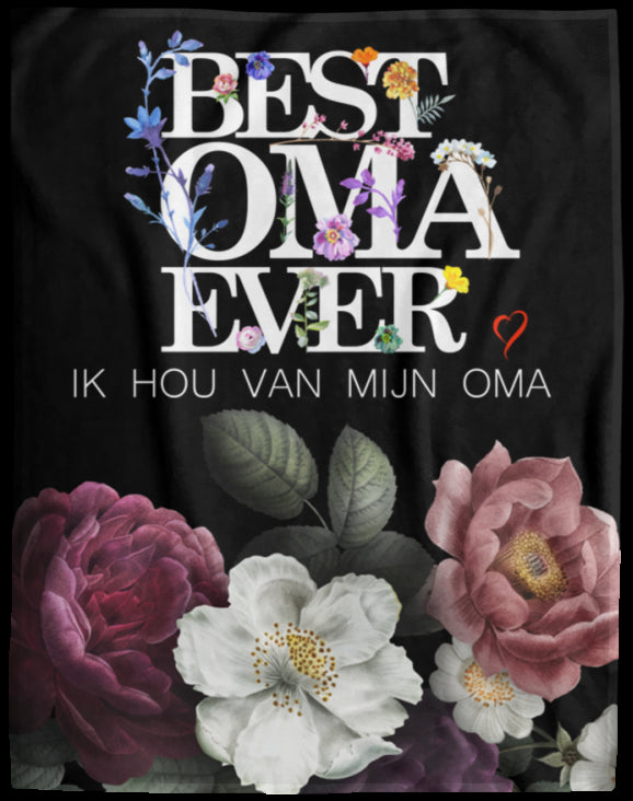 Best Oma Ever Dutch Blanket