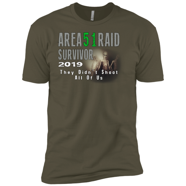 Area 51 Raid Survivor Tee
