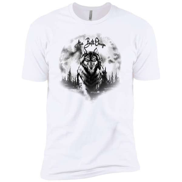 Alfa Beta Omega Wolf Premium Short Sleeve T-Shirt