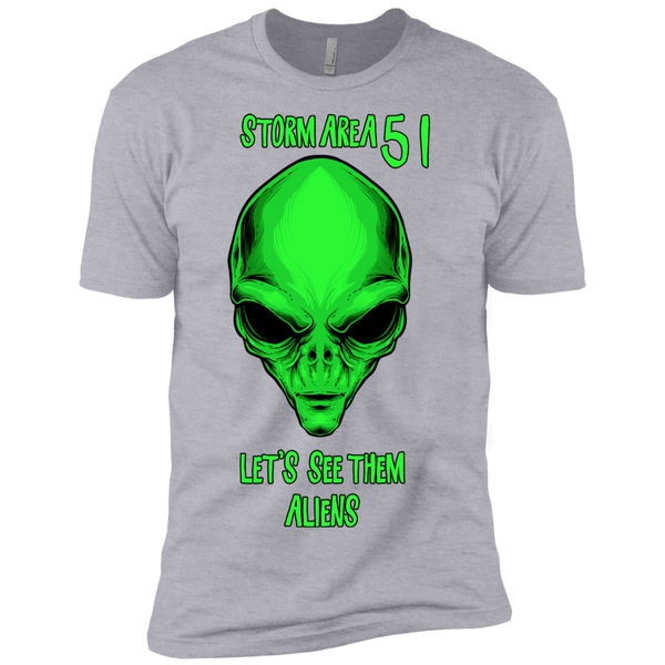 Storm Area 51 Lets See Them Aliens Tshirt