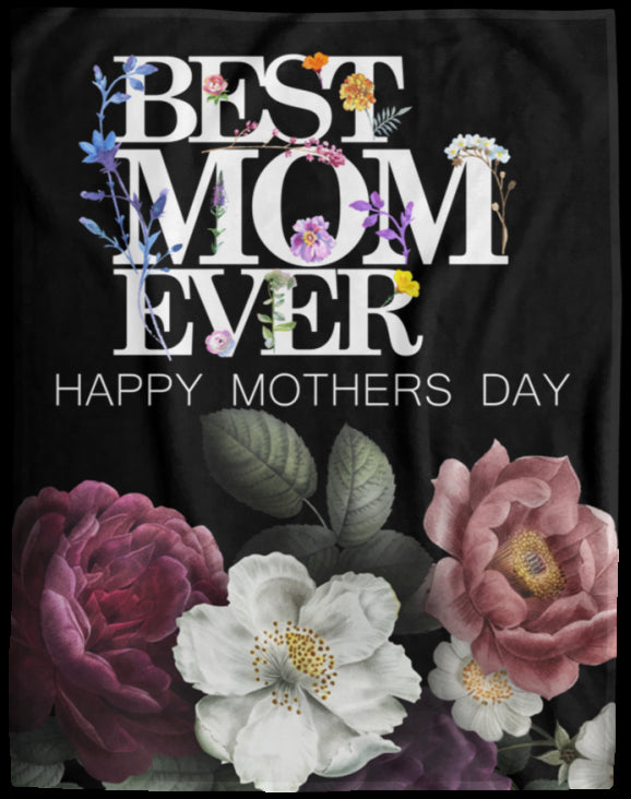 Mothers Day Gift Extra Large Velveteen Micro Fleece Blanket