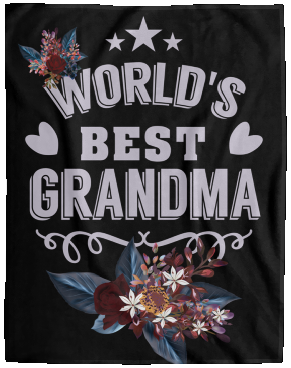 Grandma Birthday Gift Soft Fleece Blanket