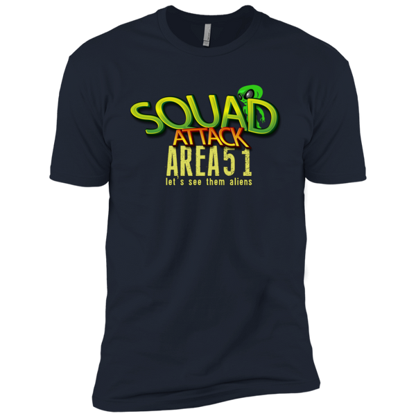Squad Attack Area 51 Tshirt