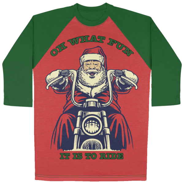 Christmas 3/4 Sleeve Raglan Design 2
