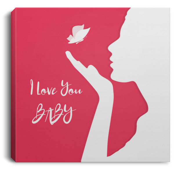 I Love You Wall Art Canvas