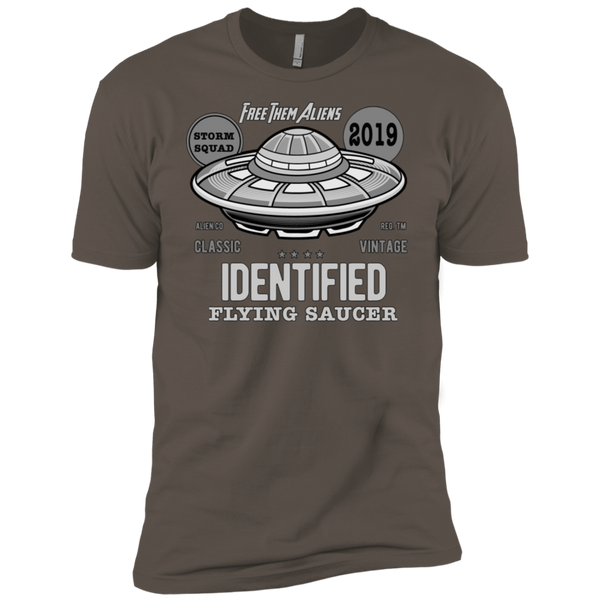 Identified Flying Saucer Free Them Aliens Tshirt