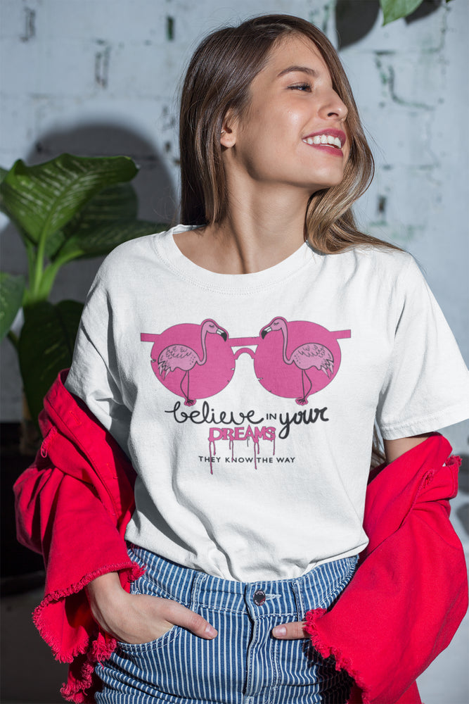 Believe In Your Dreams Women's Unisex Short-Sleeve T-Shirt