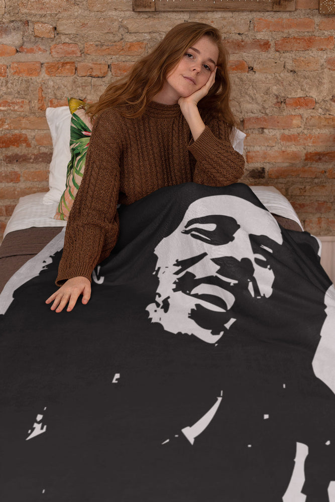 BoB Marley One Love Extra Large Fleece Sherpa Blanket