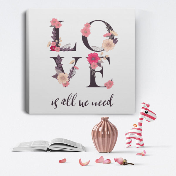 Love Gift Canvas Art. I love You Gift