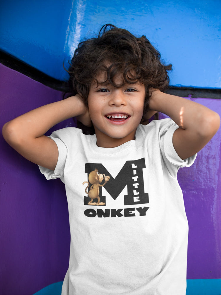 Kids Monkey Tshirt Design6