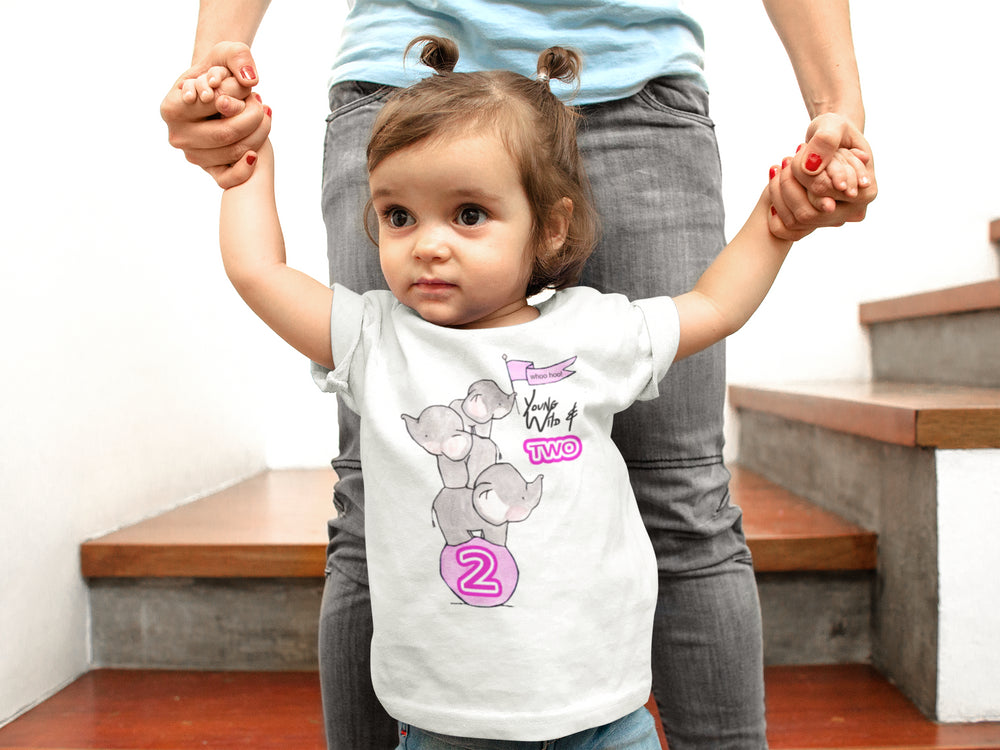 Young Wild And 2 Girls Toddler T-Shirt