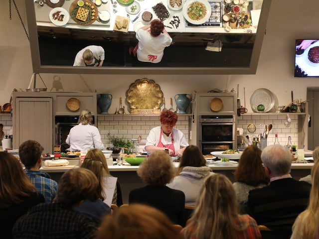 Cookery Demonstration & Tasting in World Renowned School