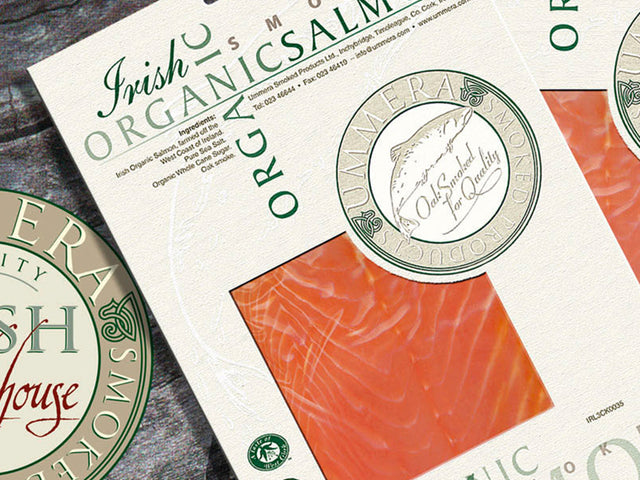 Buy Smoked Irish Organic Salmon from Master Smoker