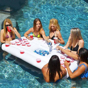 Giant Inflatable Beer Pong Table Pool Float