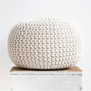 Decorative Cotton Footstool