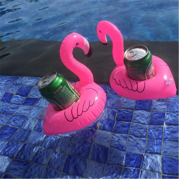 Floating Flamingo Drink Holder