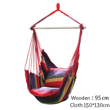 Hanging Chair Hammock with 2 Pillows