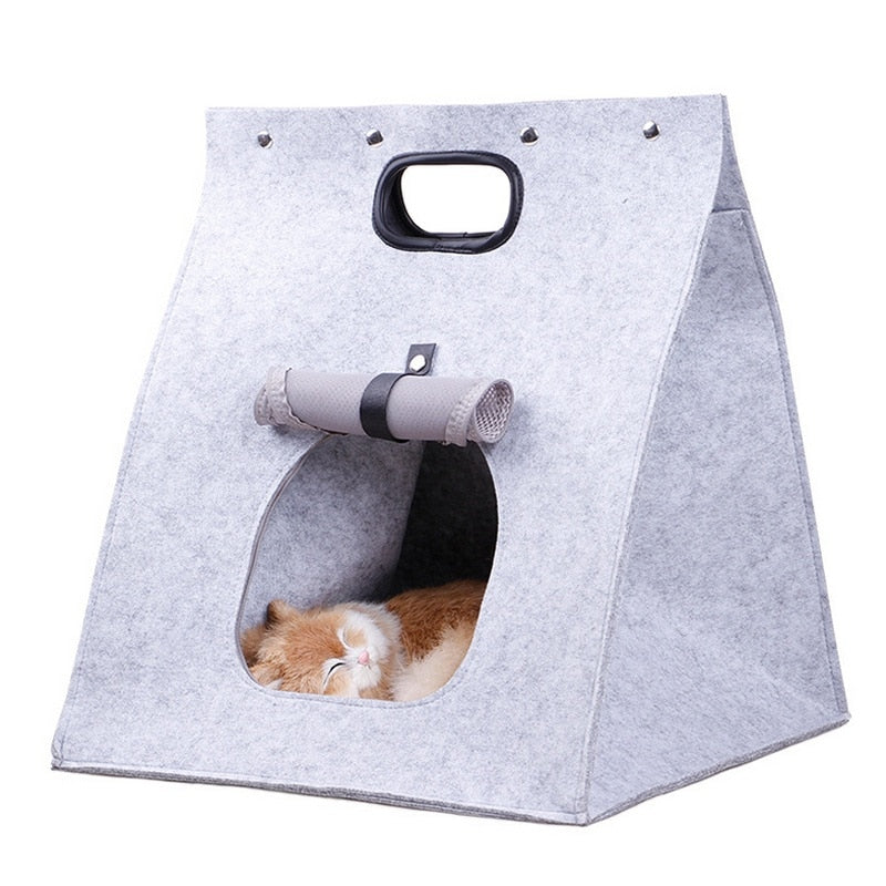 Felt Pet Carrier