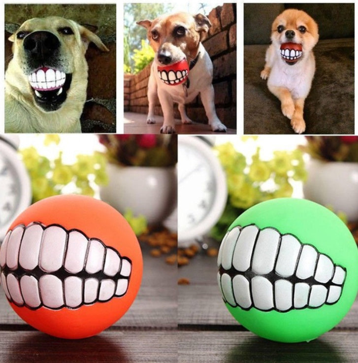 Funny Teeth Chew Toy