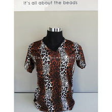 Load image into Gallery viewer, Leopard Print Men's Shirt