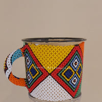 Beaded Enamel Mugs (Zulu Designs)