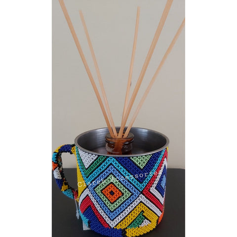 Beaded Enamel Mugs