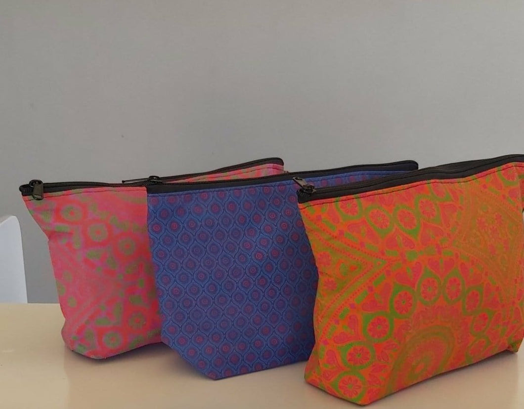 Shweshwe Toiletry Bags