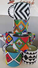 Load image into Gallery viewer, Beaded Enamel Mugs