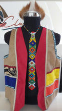 Load image into Gallery viewer, Umblaselo Zulu Mens Waistcoast