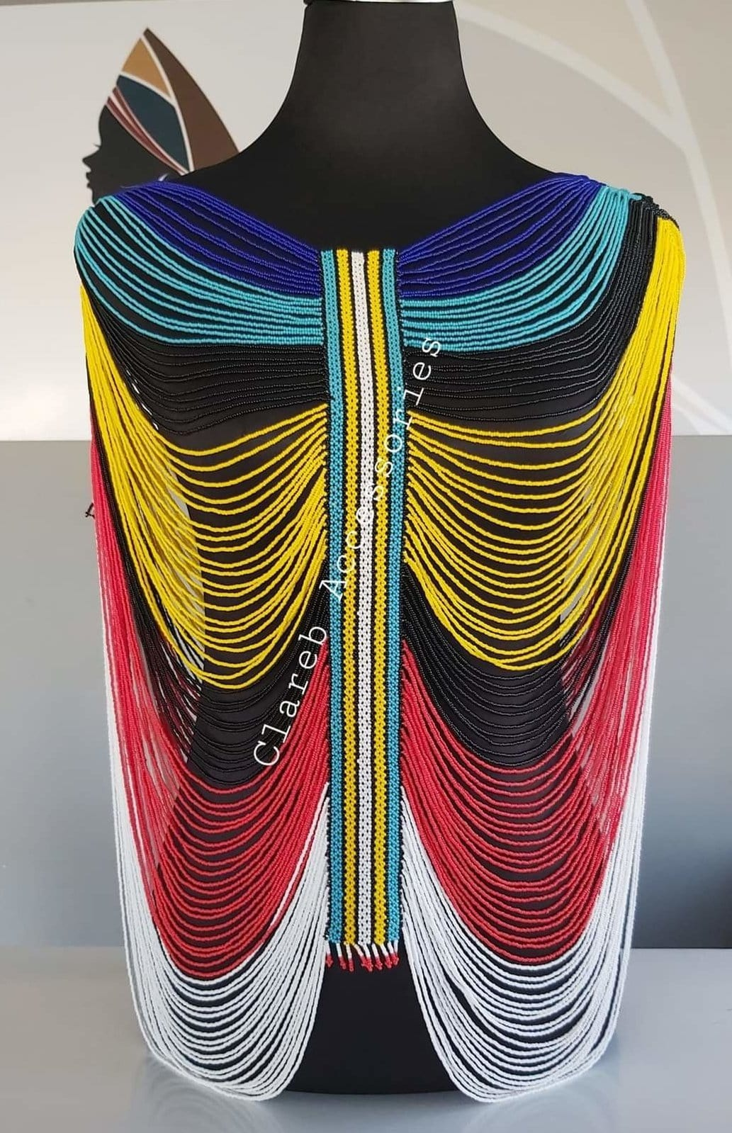 Full Body Beaded Vest