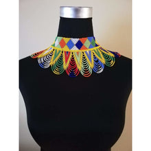 Load image into Gallery viewer, Peacock Neckpiece