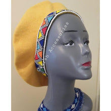 Load image into Gallery viewer, Beaded Beret